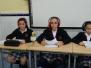 1º de ESO realiza programas de radio en inglés.