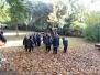 Excursión de otoño de 3 años.
