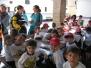 Infantil visita la granja escuela.