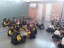 5º y 6º visitan el colegio Sebastian Burgos