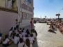 Visita al mural dedicado a Josep Renau.